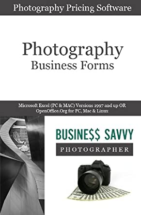 Amazon.Com: Photography Business Forms | All 6 Bundle: Sample