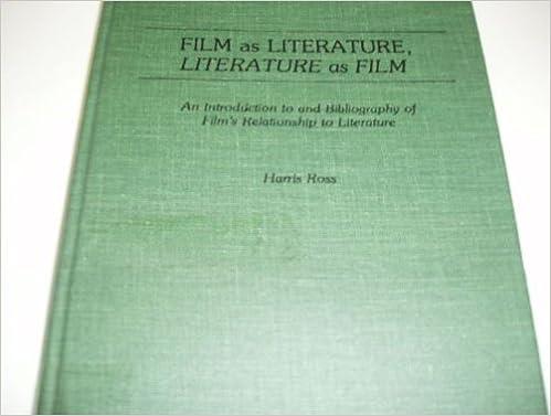Film as Literature, Literature as Film