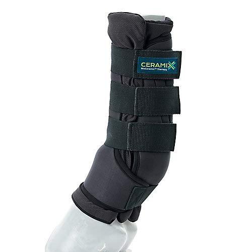 Ceramix EZ-Wrap Stable Boots MD Black