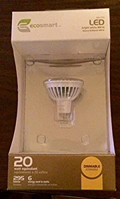 EcoSmart MR16 25 Watt Equivalent LED Flood Light Bulb, Bright White