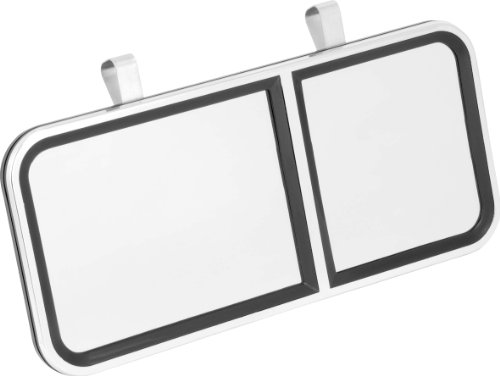 - Bell Automotive 22-1-00503-8 Large Clip-On Vanity Mirror