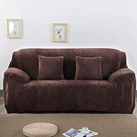 Ximger - Funda de sofá de Terciopelo Grueso para sofá de 1 2 ...