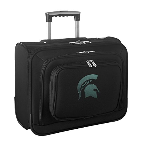 NCAA Michigan State Spartans Wheeled Laptop Overnighter