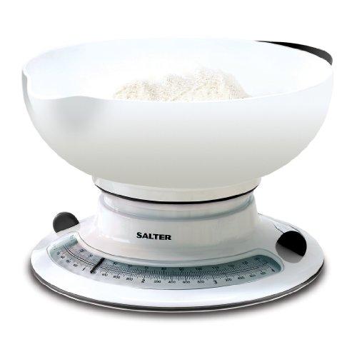 (Salter Aqua Weigh Mechanical Scale White 4kg)