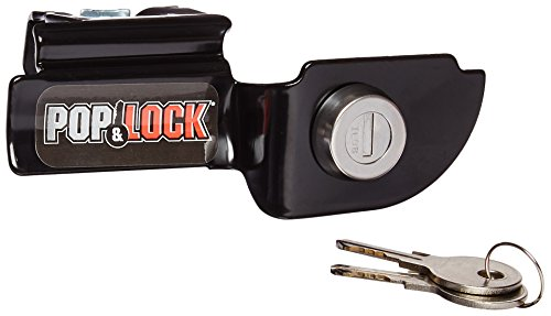 Pop & Lock PL3600 Black Manual Tailgate Lock for Mitsubishi -