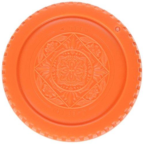 Fotodiox Designer Body Cap for Canon EOS (Orange)