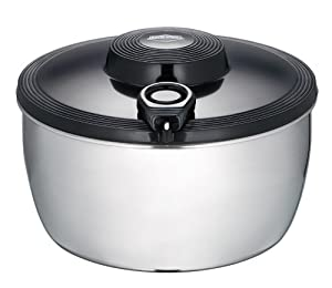 Küchenprofi 13 7008 28 00 Edelstahl Salatschleuder