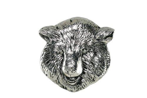 (Grillie Bear-N Antiqued Nickel Finish Grille)