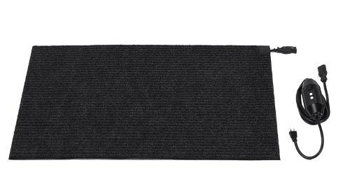 HeatTrak HCM24-3 24-Inch by 36-Inch Carpeted Snow-Melting Door Mat, 120-Volt