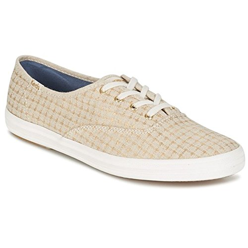 Keds WF56417 Women's Champion Foil Ticking Dot Fashion Sneaker, 7.5 B(M) US (Fashion Sneaker Dot)