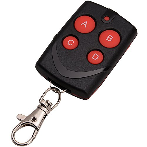 Mhz Compatible Garage Door Opener - Cloning Clone Copy Duplicator 4 Button Key RF Compatible for All Kinds of Learning Code Remote Control for Keyless Entry,Garage Door or Gate Opener etc
