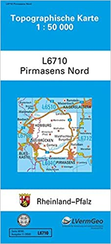 Pirmasens Nord 1 50 000 9783896371904 Amazon Com Books