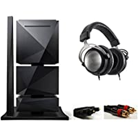 Astell&Kern AK500N 1TB Full Set w/ Power Supply, Amp, LED Stand with AKT5P Limited Edition Beyerdynamic Headphones with Optical Audio Connection Kit