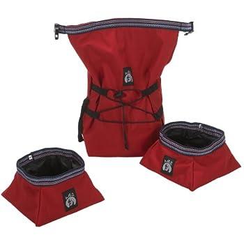 ABO Gear Dog Tucker Traveler Bag and Bowls
