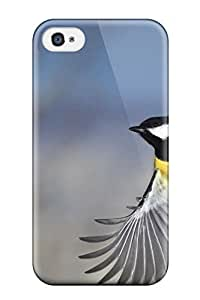 Excellent Iphone 4/4s Case Tpu Cover Back Skin Protector Bird