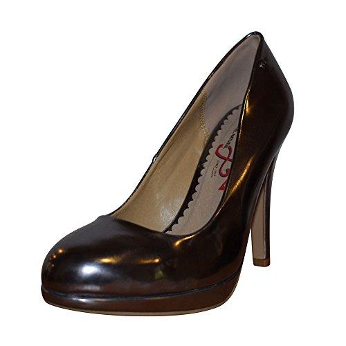 Zapatos Losca plomo-Altura tacón: 9cm-