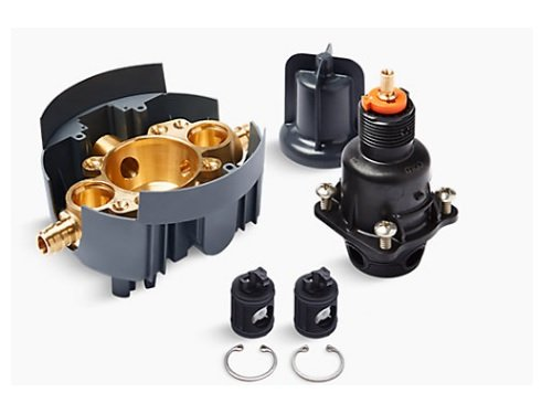 Kohler K-8304-US-NA Pressure-Balancing Valve Body and Cartridge kit with Service Stops and PEX Expansion Connections
