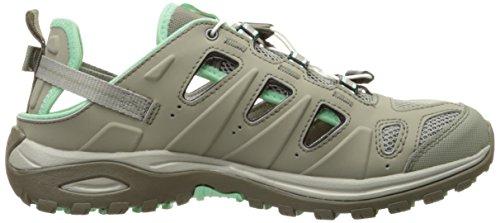 Chaussures de Titane Salomon Titanium Femme Randonnée Basses Lucite Ellipse Titanium 3 43 Gris Gris Dark Green EU Vert Cabrio rqEnBE