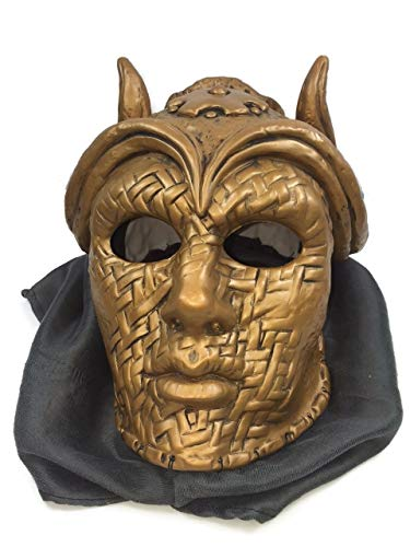Sons of The Harpy Face Mask GOT Game of Thrones with Veil Fabric Costume