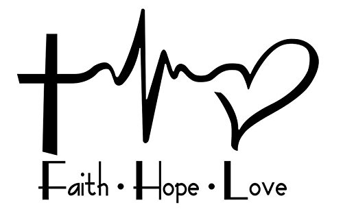 Faith Vinyl Sticker Windows Laptops product image