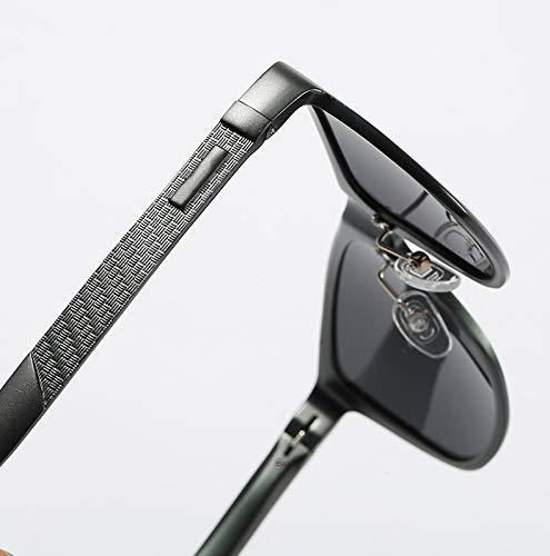 Mode Ruiyue Lunettes pour UV400 Polarizer Protection Verres 5 Aluminium Conduite Femmes Conducteur Magnesium Tendance Hommes Confortable qFftFBw