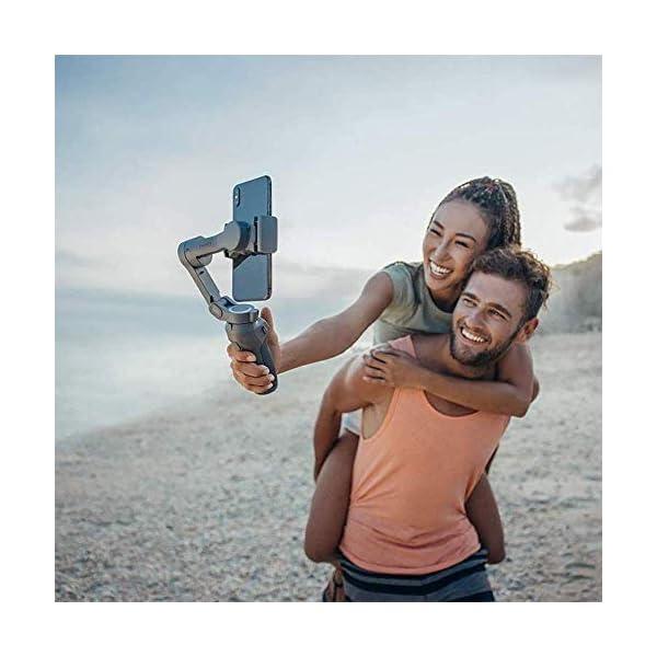 DJI Osmo Mobile 3 Prime Combo - Kit Stabilizzatore Gimbal a 3 Assi con Care Refresh, Compatibile con iPhone e Android Smartphone, Design Portatile, Scatto Stabile, Controllo Intelligente con Treppiede 3 spesavip