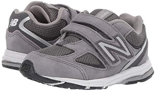New Balance Boys' 888v2 Hook and Loop Running Shoe Dark Grey, 2 M US Infant by New Balance (Image #5)