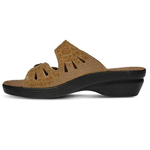 Flexus Women's Women's Footstep Sandals Tan Flexus Footstep BZdqnUgWZT