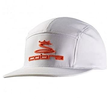 70504d74850 New Cobra Rickie Fowler Tour Snapback Adjustable 5 Panel White Orange Hat  Cap  Amazon.ca  Sports   Outdoors