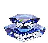 Moda Cristal Coche Perfume Botella Coche Perfume Asiento Pedestal Pequeña Decoración Auto...