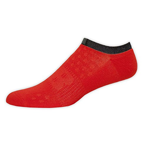 New Balance Unisex 1 Pack NBX No Show Minimus Socks, Red, Large ()