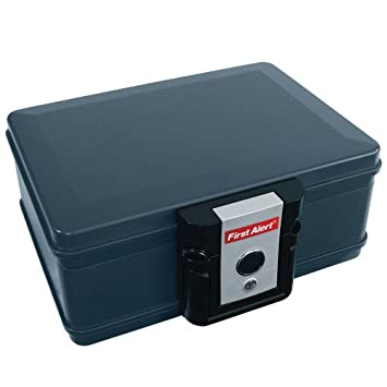 First Alert Fire and Waterproof Protector Chest – 297 Cu. In. Capacity, Model 2013F