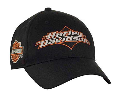 Harley-Davidson Men's Joy Ride Bar & Shield Baseball Cap - Black BC05230 (Harley Ball Cap)