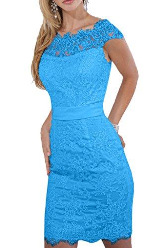 Promgirl House - Robe - Crayon - Femme -  Bleu - 48