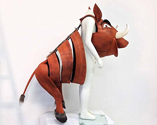 Pumbaa. Lion King FULL COSTUME. Child / Adult. Handmade Pumba warthog. Super lightweight and easy to wear. Handmade by Tentacle Studio.