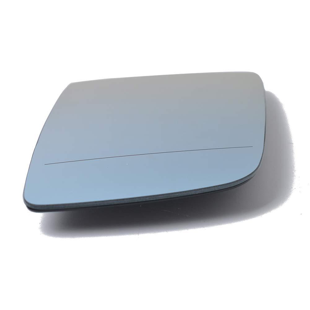 Semoic Specchietto Retrovisore Riscaldamento Elettrico Lente di Vetro Auto Lato Passeggero Specchio Destro per BMW 2004-2009 BMW 5 E60 E61 51167065082 51167189488 6472845