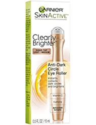 Garnier SkinActive Clearly Brighter Sheer Tinted Eye Roller, Light/Medium, 0.5 Fl Oz