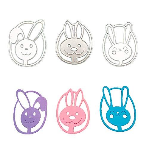 Kisslife Easter Rabbit Metal Cutting Dies Scrapbooking Card Making Stamps and Dies