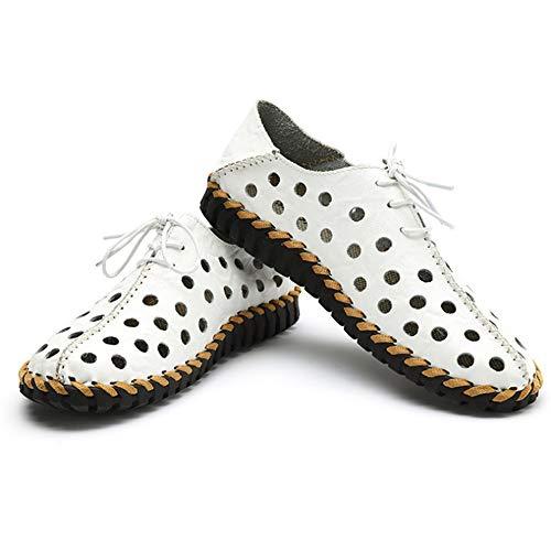 Uomo Wagsiyi Sandals Doppio Da Scarpe Antiscivolo da Scarpe 0 0 Scarpe A Cave Uso spiaggia Summer Traspiranti Bianca 27 Spiaggia CM 24 pantofole q4qntwp5A