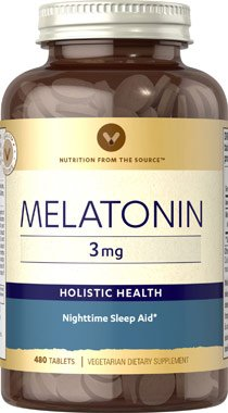 Image Unavailable. Image not available for. Color: Melatonin-3 mg -480-Tablets