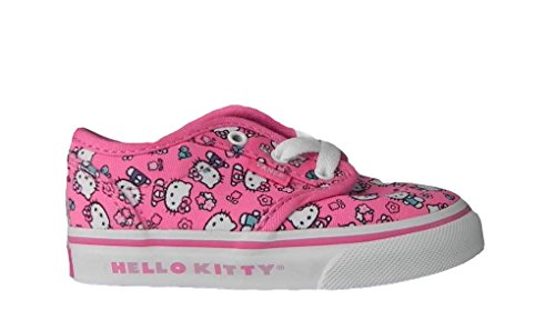 Vans Infants/toddlers Girls Atwood Hello Kitty Pink/white Fashion Sneakers Shoes (Childrens Hello Kitty Vans)