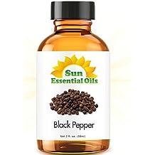 Black Pepper (2 fl oz) Best Essential Oil - 2 ounces (59ml)