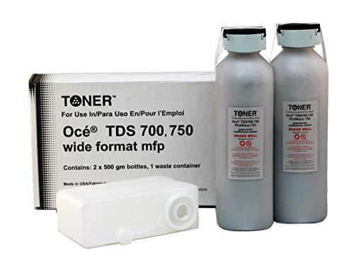 - Oce TDS700, TDS750, Plotwave 750 Toner, Black (2 cartridges)