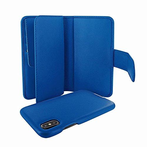 Piel Frama 793 Blue WalletMagnum Leather Case for Apple iPhone X by Piel Frama (Image #3)