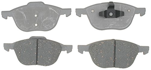 (ACDelco 14D1044C Advantage Ceramic Front Disc Brake Pad Set)