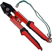 Fishing Crimp Pliers Crimping Tool Kit - 500pcs Crimp Sleeves and Fishing Beads Set Heavy Duty Hand Crimper Pl