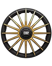 Omp Licencia OMP1312 Tapacubos Negro/Dorado 13