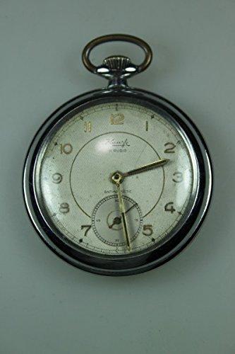 Bolsillo antiguos Kienzle anti magnetic pocket watch reloj Ard deco