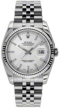 Amazon Com Rolex Oyster Perpetual Datejust Mens Watch 116234 Watches