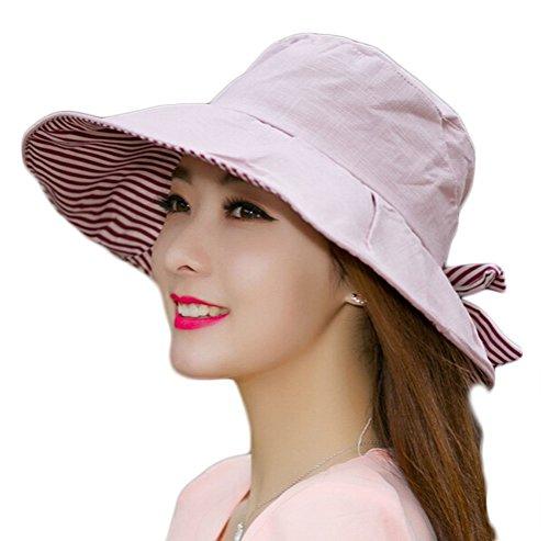 nanxsontm-womens-elegant-cotton-wide-brim-hat-sunhat-with-bowknot-mzw0055